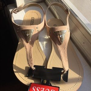 Guess sandals size 8.